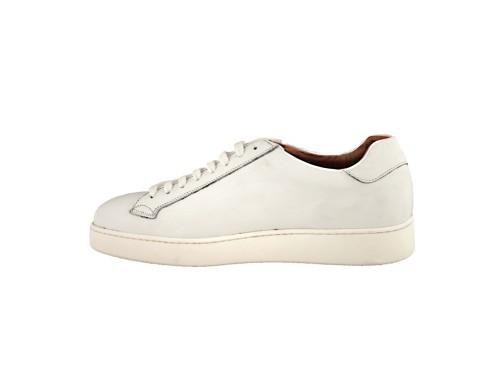 Sneakers in pelle di vitello crust