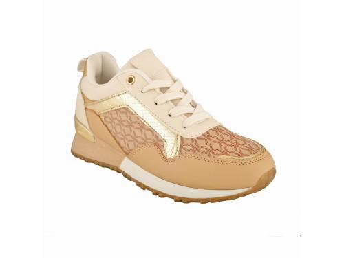 Sneakers con suola in gomma